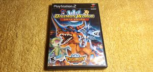 DIGIMON WORLD DATA SQUAD PS2 GAME COMPLETE for Sale in Missouri City, TX
