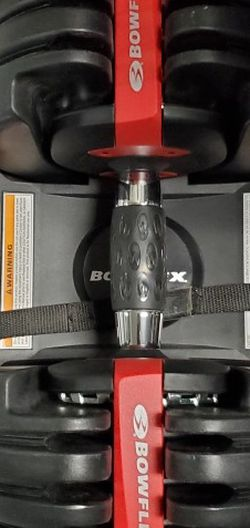 Bowflex SelectTech 552 Adjustable Workout Exercise Dumbbells Weight    for Sale in Wood-ridge, NJ