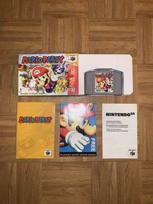 Mario Party Nintendo 64 (Complete) for Sale in Howell Township, NJ