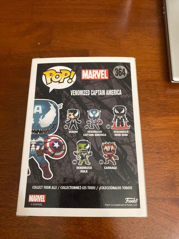 Venomized Captain America POP!