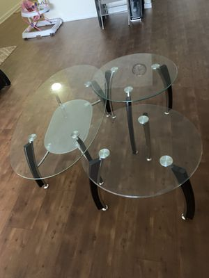 Coffee table set for Sale in Silver Spring, MD