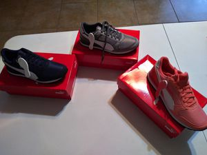 New Puma Sneakers. Read Description..only message me if you are ready to buy for Sale in Houston, TX