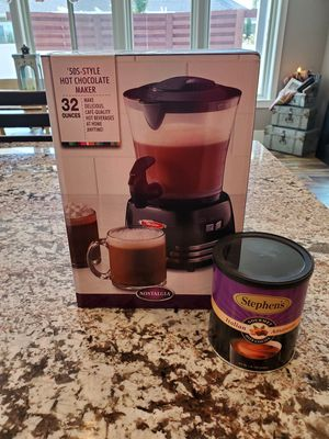 New hot coco maker, perfect for a lot or a little for Sale in Herriman, UT