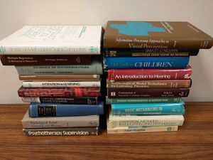 LOT of vintage college textbooks for Sale in Washington, DC