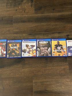 PS4 Game Bundle for Sale in Marietta,  GA
