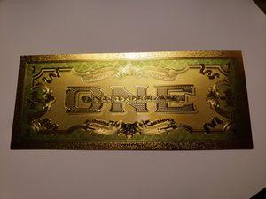 One dollar 24k certificate for Sale in Manassas, VA