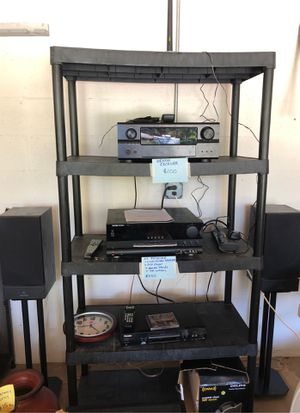 Harman Kardon receiver + Linn Index speakers w/stands! Sounds great! for Sale in Tampa, FL