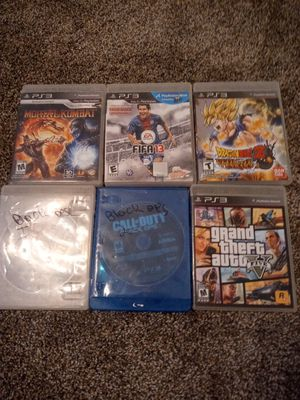 Ps3 games for Sale in Tolleson, AZ