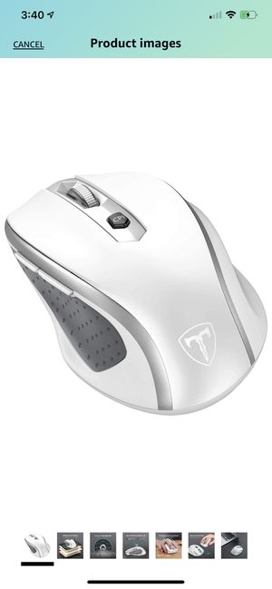 Silver/White Wireless Mouse for Sale in Henderson, NV