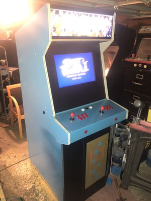 Street fighter Pacman mortal kombat arcade multi game system for Sale in Bakersfield, CA