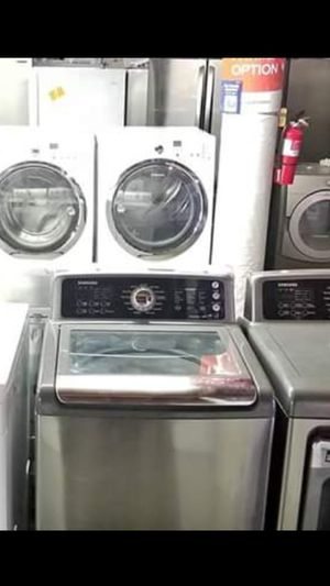 🌹Hurry now Sale store full of nice reconditioned refrigerator washer dryer stove stackable+financing available and delivery. \/free warranty 90 days for Sale in Seattle, WA