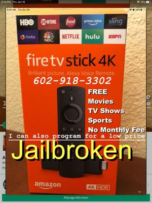 4K Amazon Fire TV Stck for Sale in Phoenix, AZ