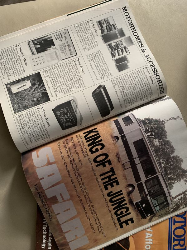 1990 & 1991 Collector MotorHome Magazine
