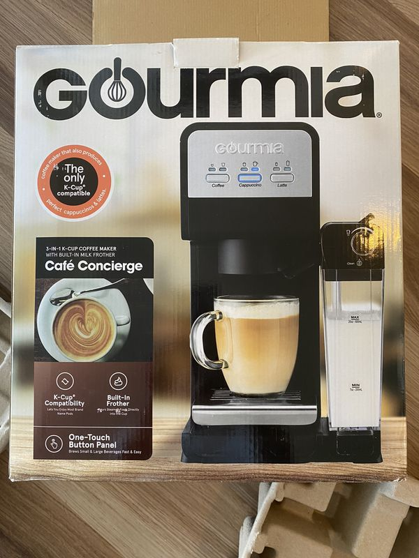 Gourmia 3-in-1k cup coffee maker