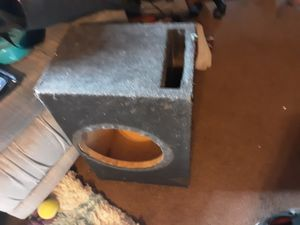 Ported 10in sub box for Sale in Pinetop-Lakeside, AZ