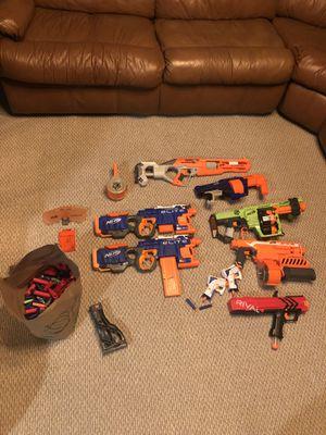 NERF GUN BUNDLE for Sale in Alpharetta, GA