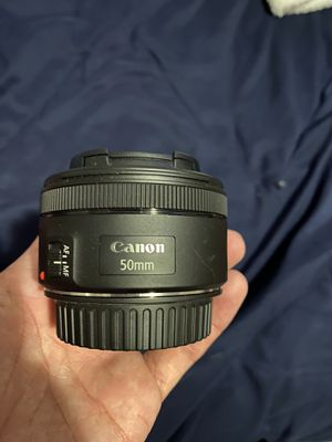 50mm Canon camera lens for Sale in Tucson, AZ