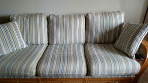 FREE!!! Couch & 2 reclining chairs used for Sale in Framingham, MA