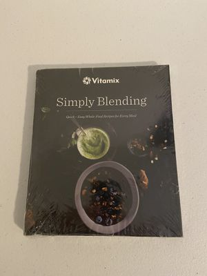 Vitamix Simply Blending book, new, still wrapped for Sale in Alexandria, VA