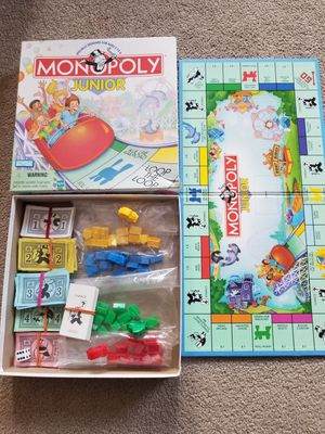 Monopoly junior game board for Sale in Los Angeles, CA