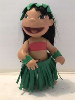 Disney Lilo & Stitch Doll Musical Hula Talking Doll Figure 2001 Hasbro for Sale in Dundee Township, IL