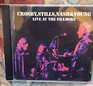 Crosby Stills Nash & Young Live at the Fillmore 2 CD set New for Sale in Henrico, VA