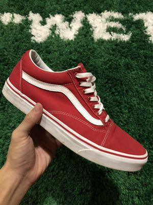 Vans Old Skool Red for Sale in Mansfield, TX