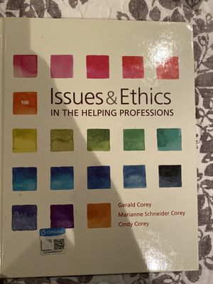 Issues and Ethics in the Helping Profession for Sale in Fontana, CA