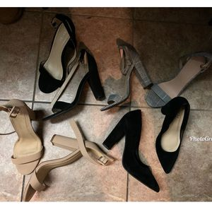 Size 9, Fashion Nova And Charlotte Russe Heels for Sale in Compton, CA
