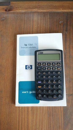 Hp10bii financial calculator never used for Sale in Algonquin, IL