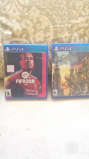 Selling Fifa 2020 (sold) and Kingdom Hearts III (still available) Trades Welcome for Sale in San Leandro, CA