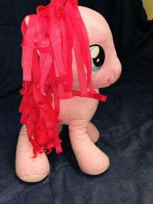"16"" Hasbro My Little Pony Stuffed Plushie Pinkie Pie for Sale in Houston, TX"