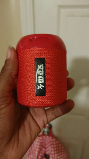 Xmax Bluetooth speaker for Sale in Bakersfield, CA