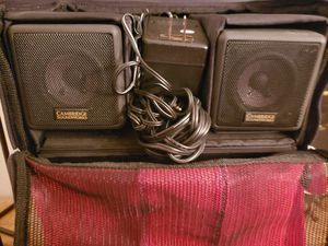 Cambridge sound works speakers for Sale in Providence, RI