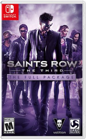 Saints Row the Third the Full Package for Nintendo Switch for Sale in Apple Valley, CA