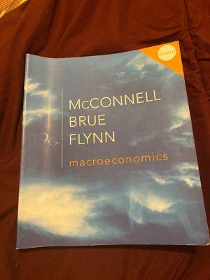 Mcconnell Brue Flynn macroeconomics 19e for Sale in Miami, FL