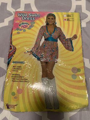 Women 60s Costume Size M/L for Sale in Covina, CA