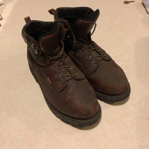 Red Wing Steel Toed Boots 10.5M for Sale in Bloomington, IL