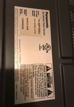 Panasonic TV for Sale in Dallas, TX