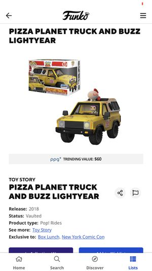 Pizza planet truck and buzz lightyear for Sale in Los Angeles, CA