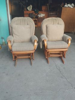 Comfy Rocking Chairs $60 Each Or $120 For Both for Sale in South Gate,  CA