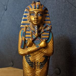 Ancient Egyptian King Tut Pharaoh Mummy Tomb Sarcophagus for Sale in Stone Mountain, GA