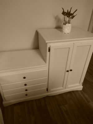 Beautiful, one of a kind dresser and armoire for Sale in Las Vegas, NV