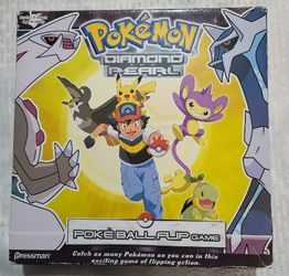 Pokemon Diamond And Pearl Poke ball Flip Game TIMER need batteries 2007 for Sale in Naval Air Station Point Mugu,  CA