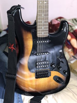 Squier Bullet Stratocaster HSS with Tremolo Limited Edition Electric Guitar for Sale in Annandale, VA