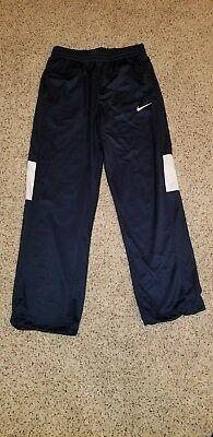 Nike Men's Navy Blue Pants Medium