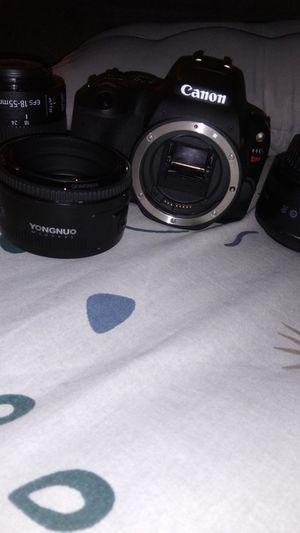 Canon EOS rebel sl2 camera for Sale in Fife, WA