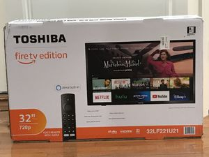 Brand new Toshiba 32 inch fire TV edition for Sale in Gaithersburg, MD