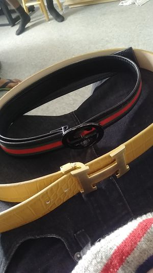 Hermes an gucci belt for sale for Sale in Garland, TX