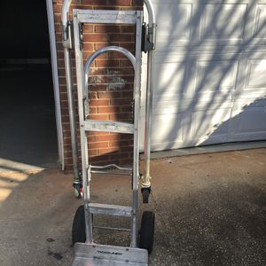 Magliner Convertible Jr Aluminum Hand Truck W/ Solid Wheels $100 for Sale in Ellenwood, GA